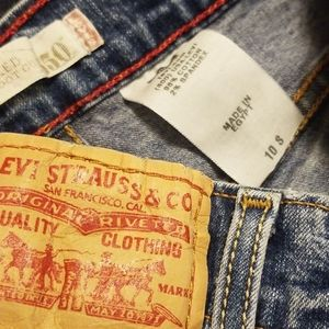 Vintage Levi's 550 relaxed boot cut 10S high waist